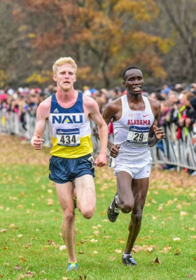 Trouard at NCAA XC last year Mike Scott photo