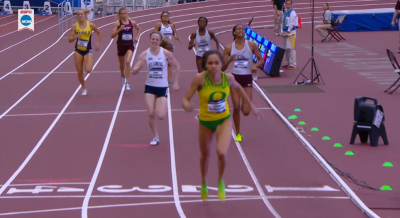 Southerland used a big move to surprise the field and win her first national title