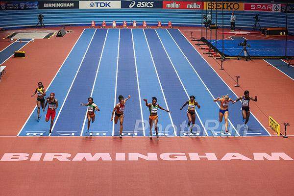 60m Finish