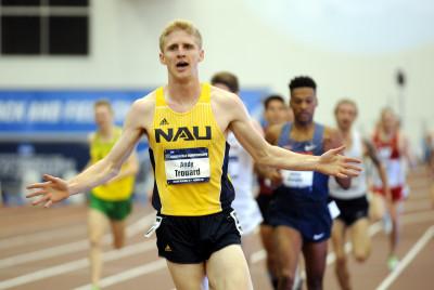 Andy Trouard Wins NCAA 3000m (photo via Bert Richardson)