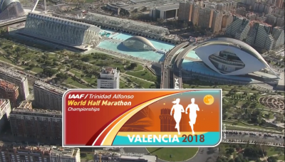Pic of Valencia at World Half Marathon