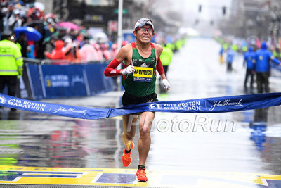 Yuki Kawauchi Wins the 2018 Boston Marathon