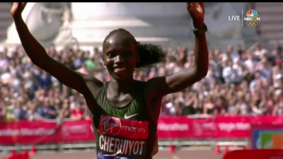 Cheruiyot Wins London