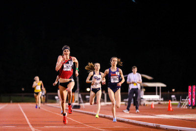 Jorgensen Wins Stanford Invite 10,000m (photo via @TALBOTCOX)