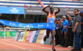 Alex Korio wins at the TCS World 10K Bengaluru 2017 © Procam International