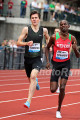 Ingebrigtsen at Pre side by side with Olympic champ