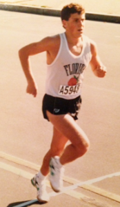 Cucuzzella in his debut at the 1988 Marine Corps Marathon