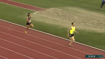 Gregorek leading before finish