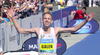 Galen Rupp all smiles on winning Prague