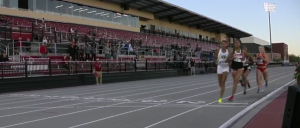 Pic of finish line during 4x1500 in Arkansas