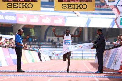 Kamworor wins again (photo via Procam International)