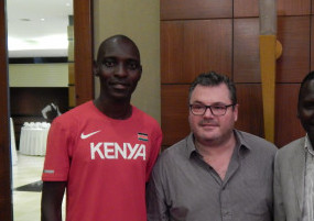 Kiprop and Rosa in hot water