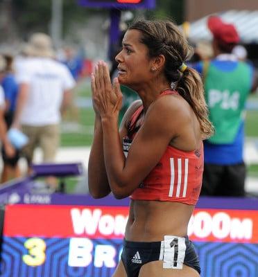 Kaela Edwards After Going Sub 2:00 (photo by Phil Bond)