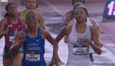 Watson was pushed to the line