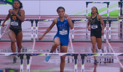Sydney McLaughlin on her way to first NCAA title