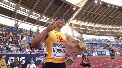 Norman after his 200 pb in Paris