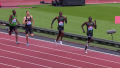 Korir pulling away in London