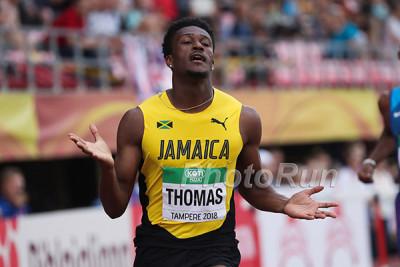 Damion Thomas at World Juniors