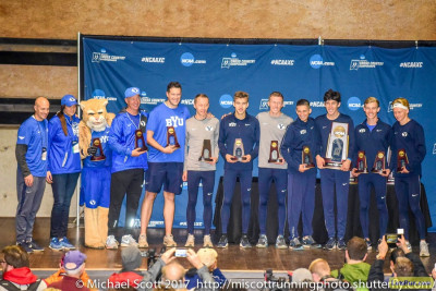 BYU's third-place finish at NCAAs last year was the program's best since 1993