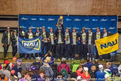 The Goliath of NCAA XC: the Northern Arizona Lumberjacks