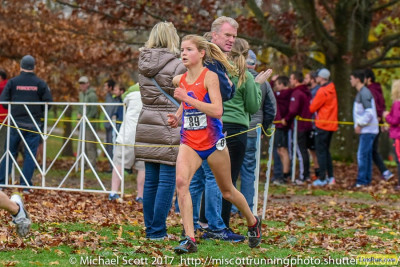 Allie O has finished 2nd and 4th in two appearances at NCAA XC