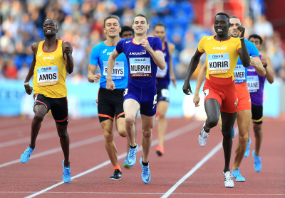 The homestretch in Ostrava (Photo by Stephen Pond/Getty Images for IAAF)