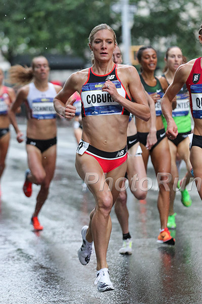 Coburn at the 2018 Fifth Avenue Mile