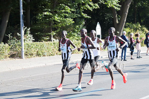 Kipchoge and the pacers