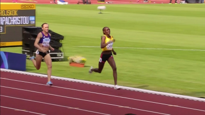 Houlihan couldn't catch Chebet today