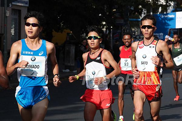 Japanese Marathoners in Berlin