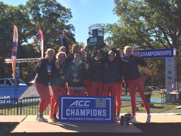 The victorious NC State women