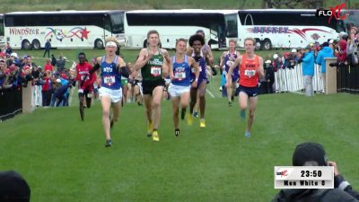 The finish to the men's White race was a thriller