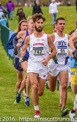 McDonald was 7th in his last NCAA XC appearance in 2016