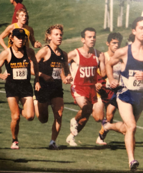 Johnson and Severy at the 1996 Pre-Nats in Tucson