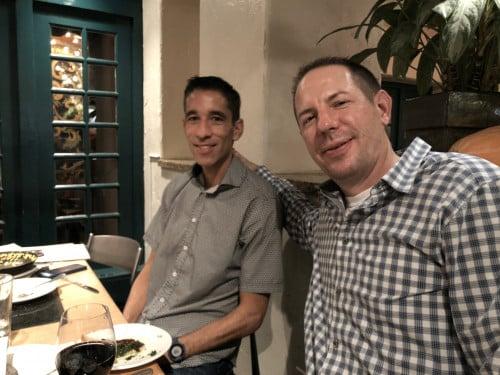 Clint Wells & Tom Reese (right). Photo courtesy Jay Johnson.