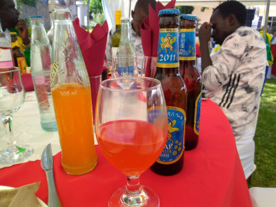We'll have more on the secret Kenyan drink of success (wine and Fanta mixed)