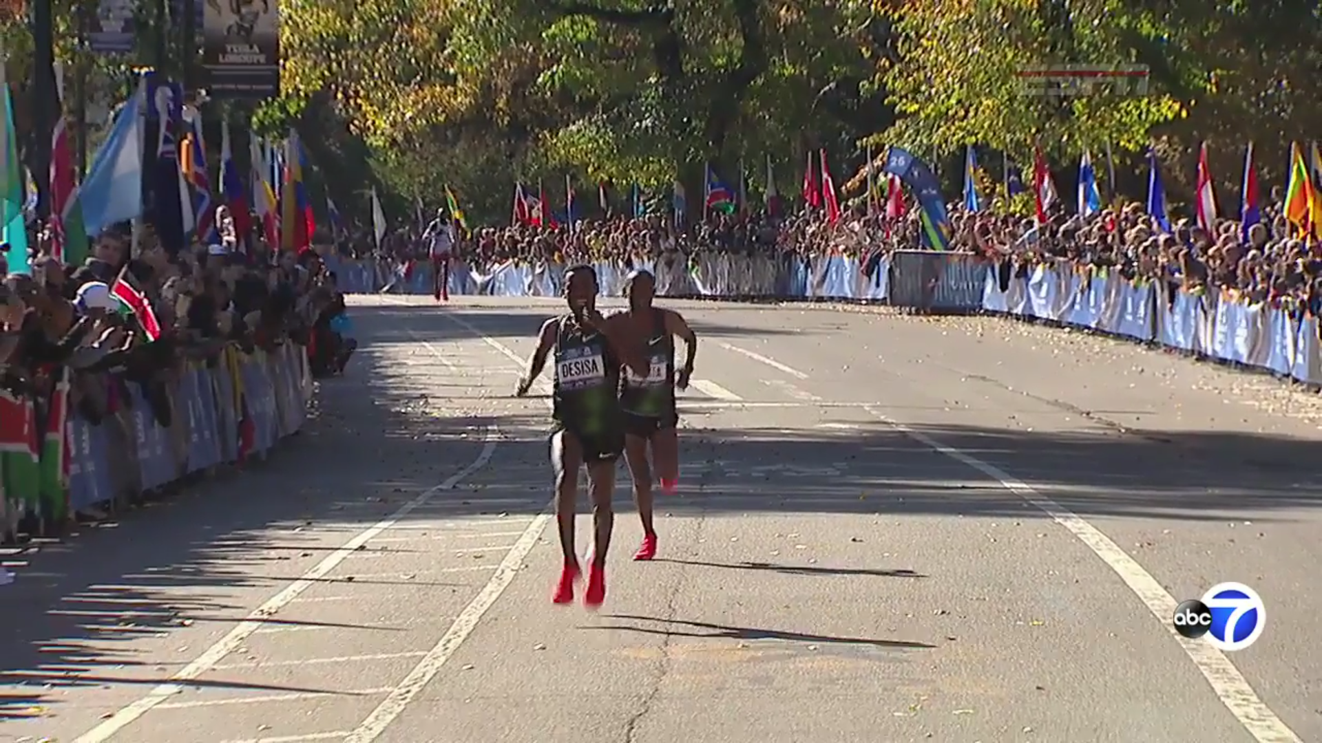 Kenya's Keitany wins NYC Marathon for 4th time in 5 years