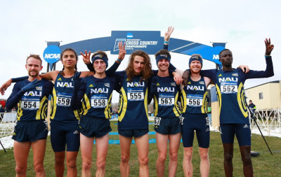 The NAU men, national champions again