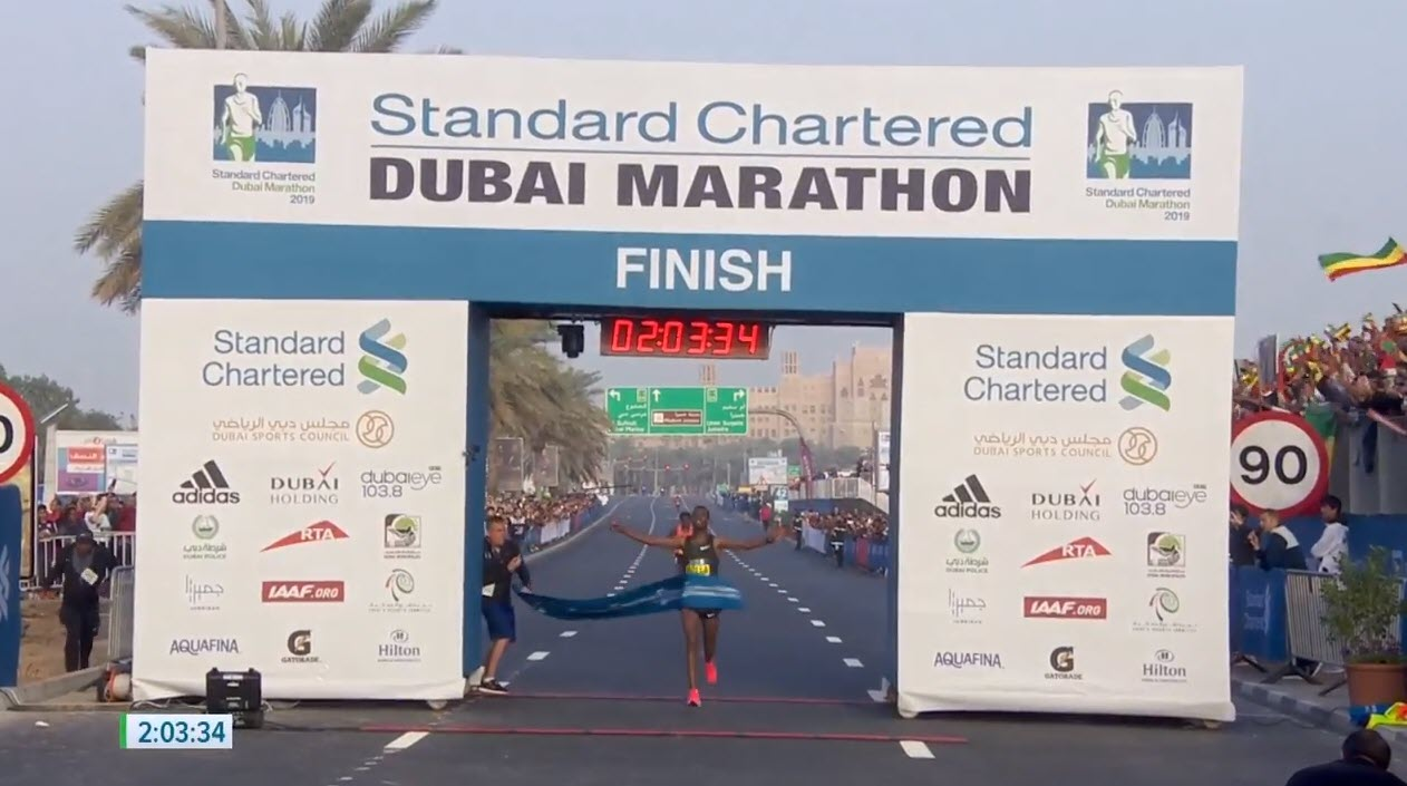 7f3d17260c255 Marathon Madness in Dubai  Getaneh Molla Runs 2 03 34 Debut Record ...
