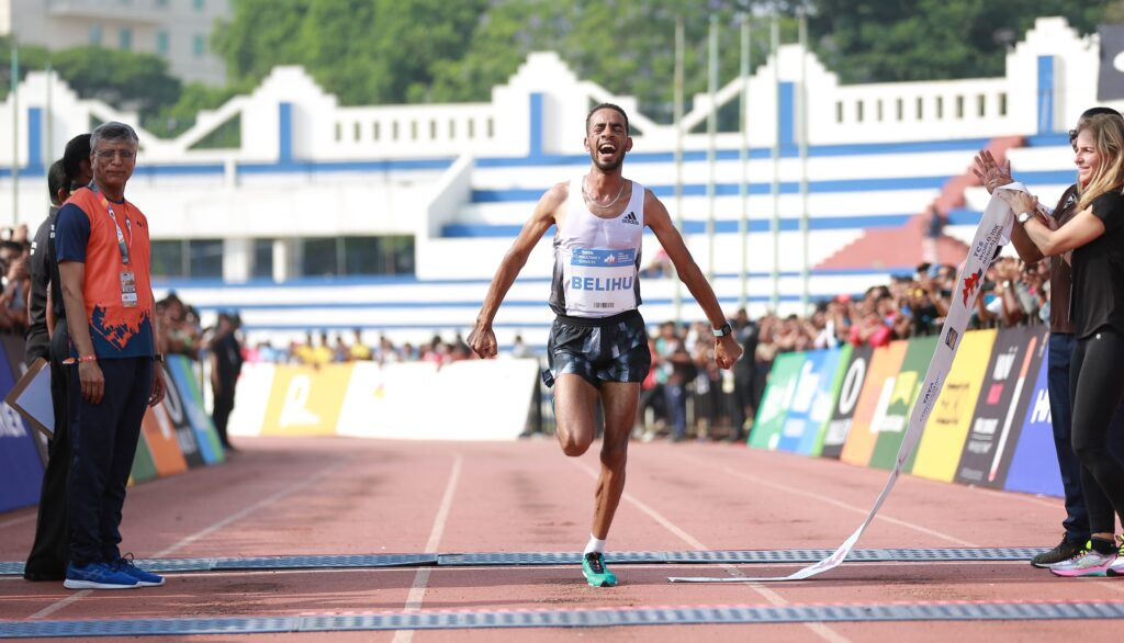 Ethiopia's Andamlak Belihu wins huge race yet again in India, captures win and $26,000 at the 2019 TCS World 10K Bengaluru