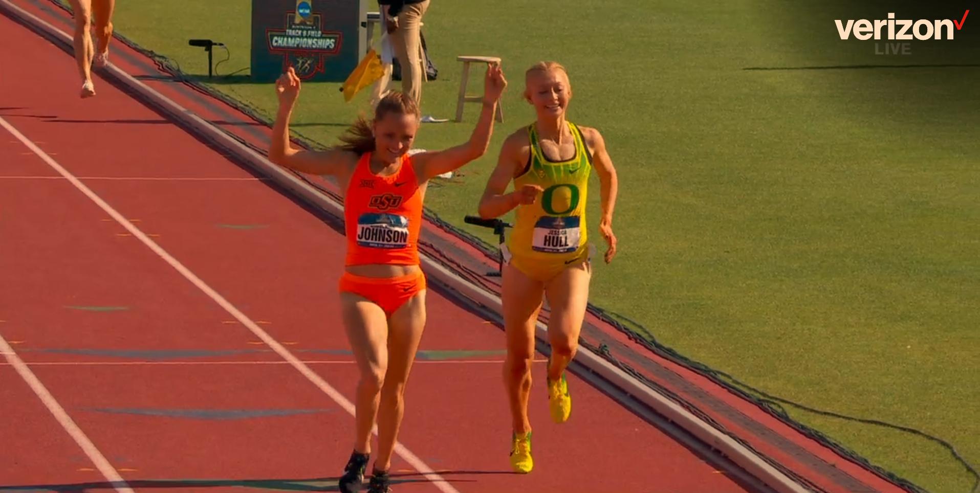 Arkansas women win NCAA track title in final race