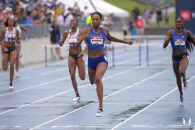 Dalilah Muhammad World Record