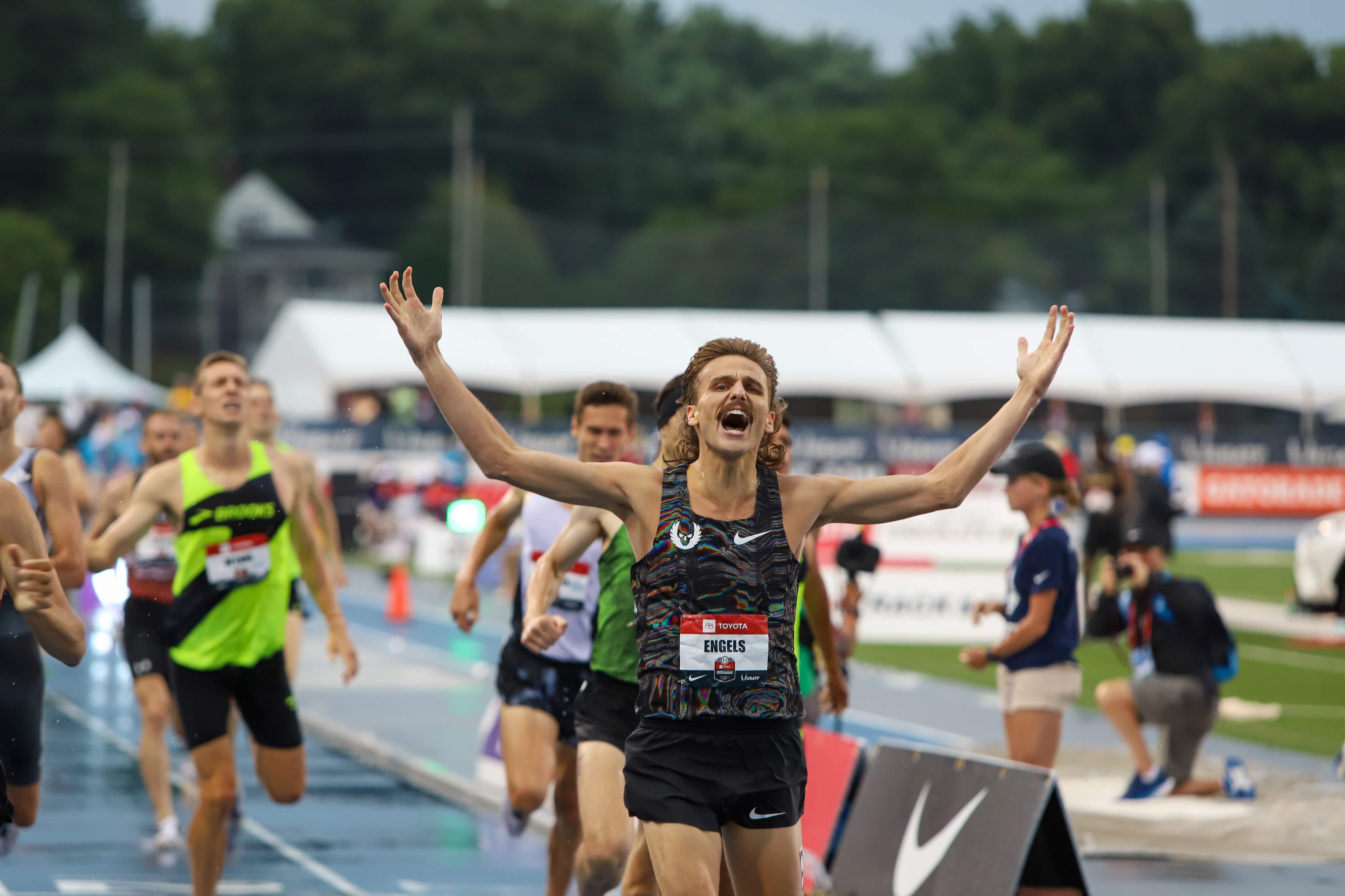 USAs Day 4 Men's Distance: Brazier Beats Murphy (Again), Engels