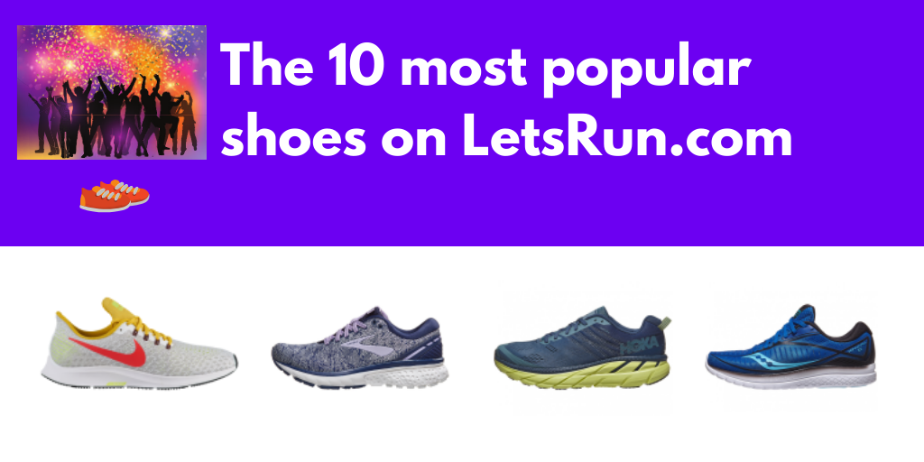 The Most Popular Running Shoes of 2019