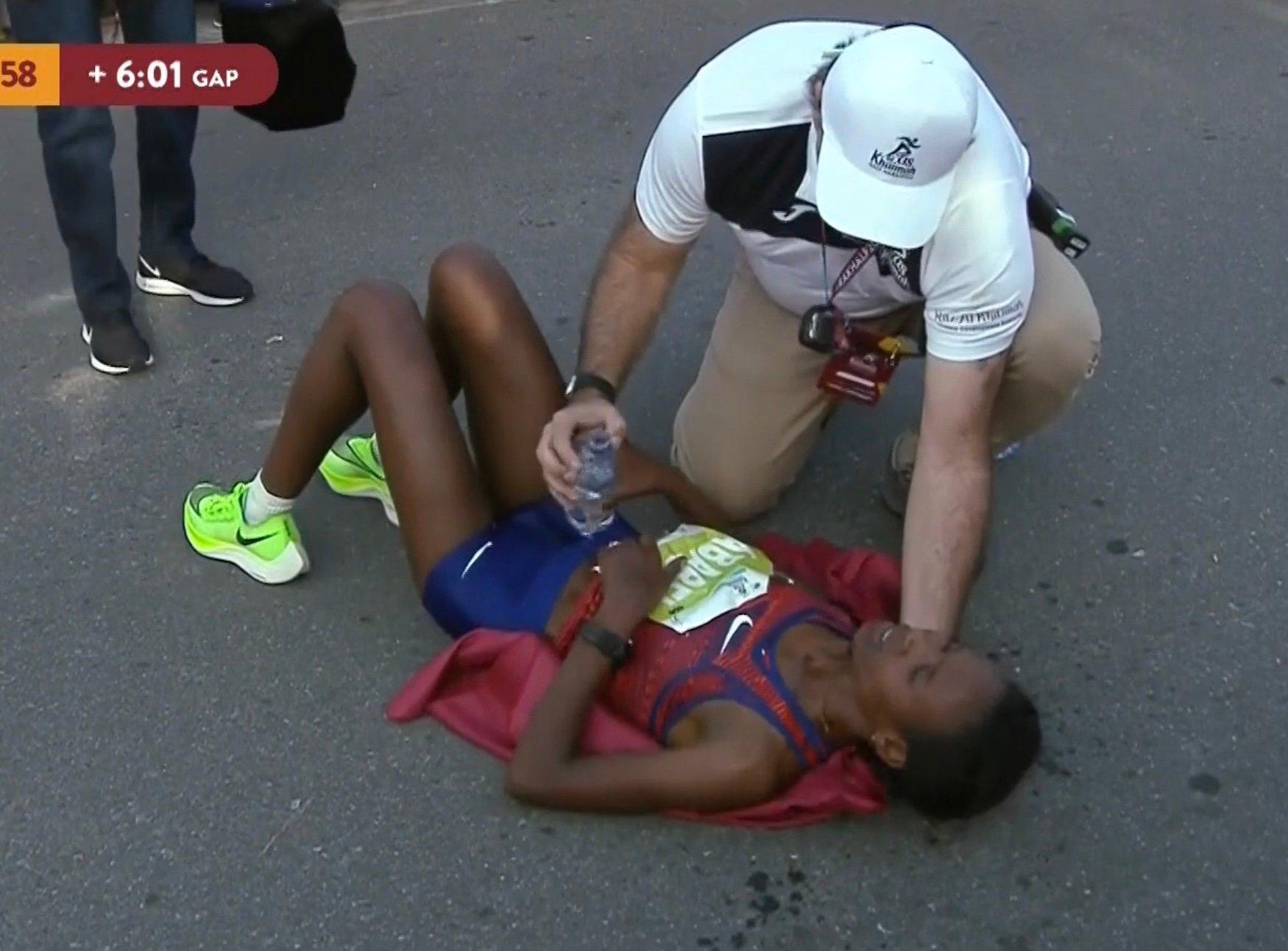 Ethiopia's Ababel Yeshaneh Upsets Brigid Kosgei and Smashes Half Marathon World Record at 2020 RAK Half Marathon